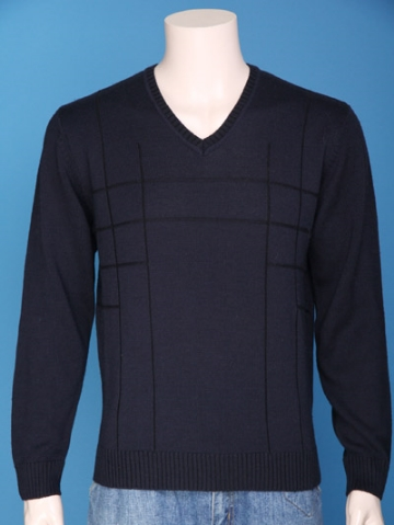 FP-275 Men pullover plaited