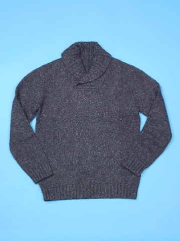 FP-238 Mens shawl collar pullover