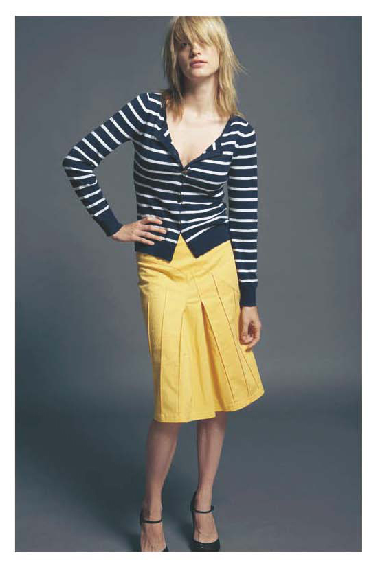 FP-186 Striped Cardigan