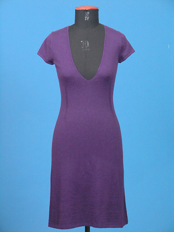 FP-118 Cotton Cashmere knitted dress