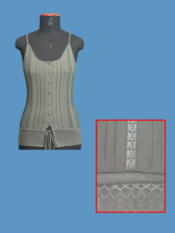 FP-175 Lace Trim Top