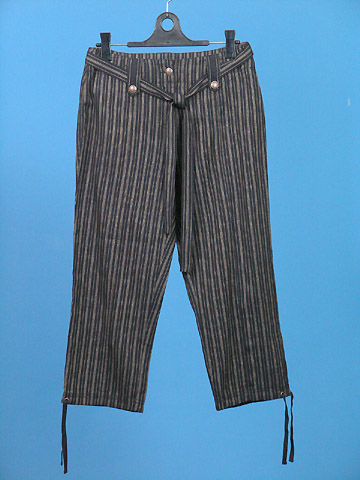 FP-155 Linen Capri Pants