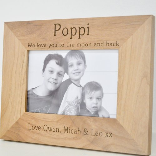 Personalised We Love You To The Moon And Back Frame Inspire Me
