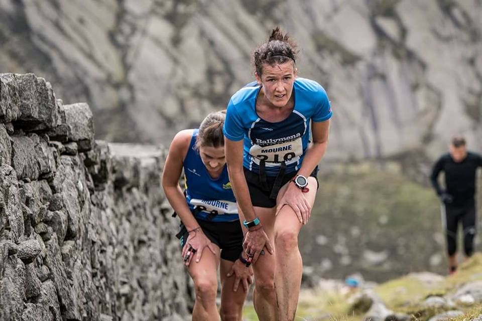 Gillian Wasson tackles Slieve Bearnagh