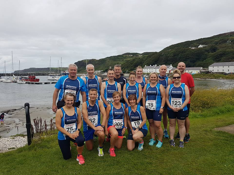 Ready to take on the Rathlin Run