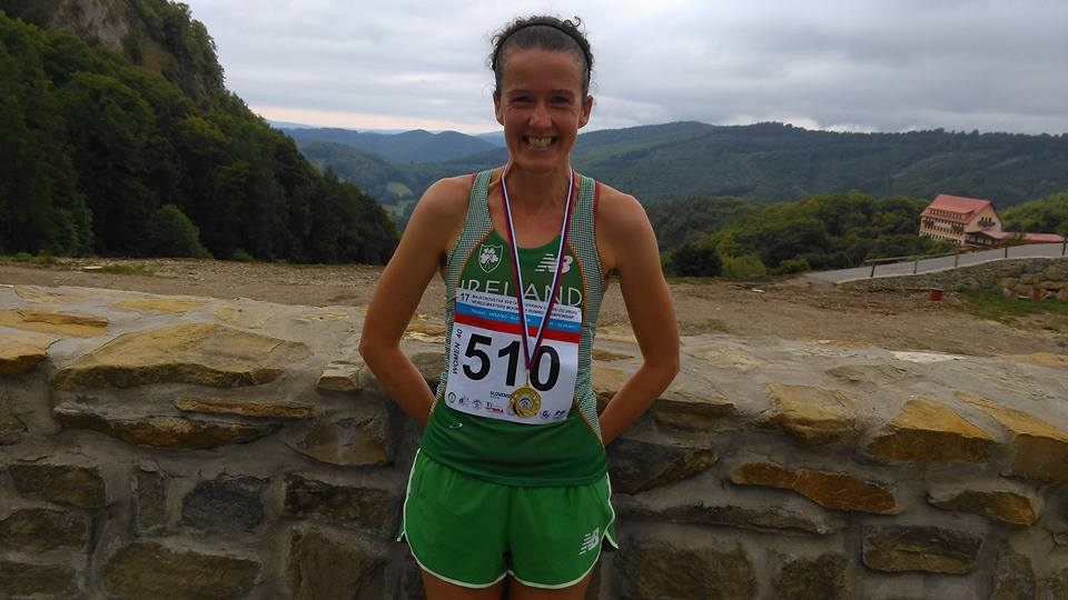 Gillian Wasson wins bronze in the World Masters Mountain Running Championships in Slovakia