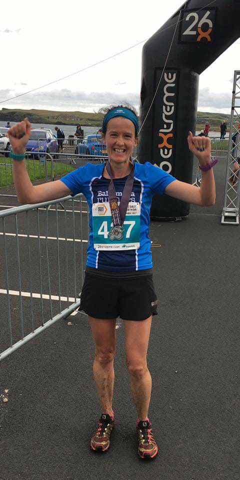 Gillian Wasson wins on the Causeway Coast