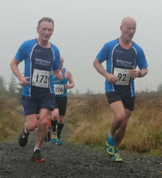 David Rainey and Glenn McGall run Davagh Forest