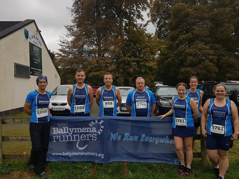 Ruth Murphy Aiken, Tim Lowry, Mark Alexander, Aidy Dodds, Emma Donnelly, Gillian Wasson and Allison Douglas all Run The Ridge in Wicklow