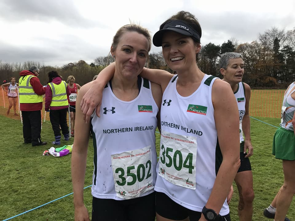 Paula Worthington (3502) represented Northern Ireland in the British & Irish Masters Cross Country international on Saturday