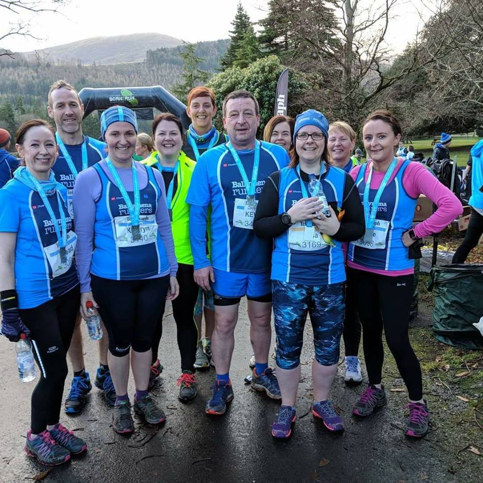 Ballymena Runners at Tollymore Forest