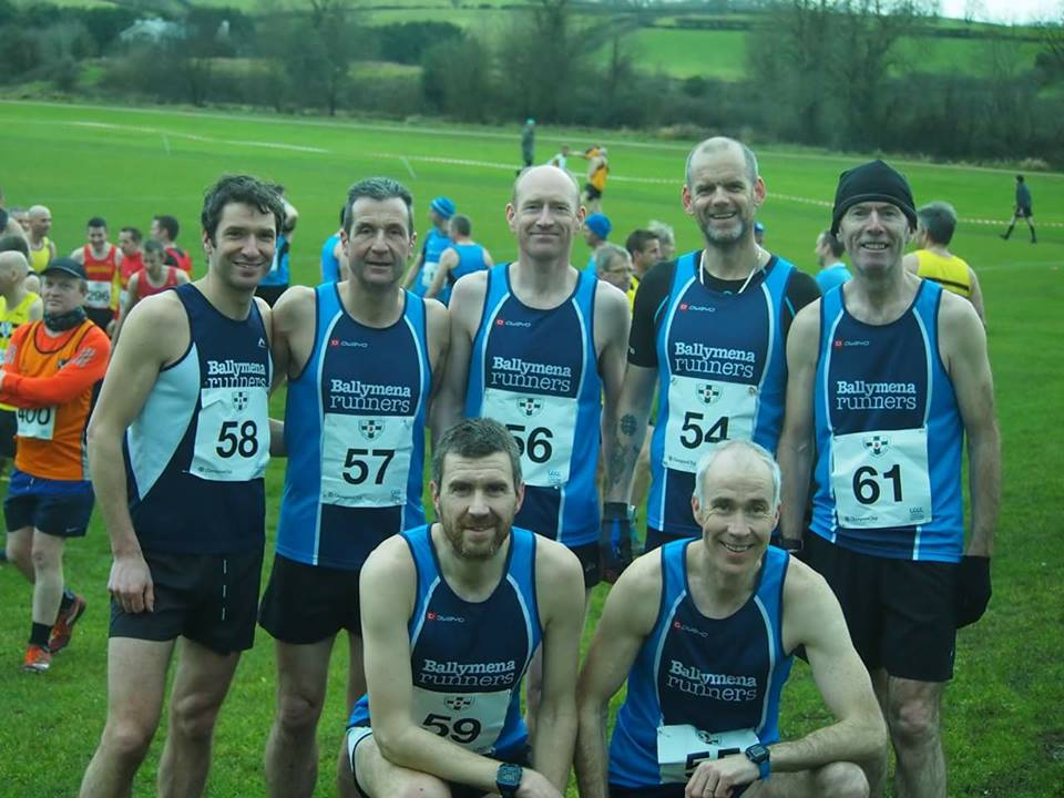 Ballymena Runners at the NI Ulster Intermediate & Masters Cross Country