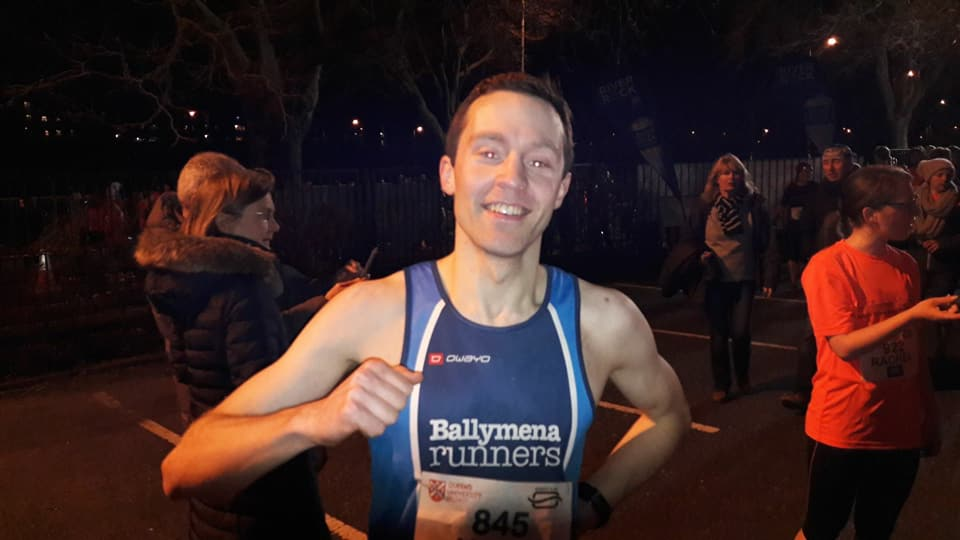 Jason Wilson claimed a personal best at the Queen's 5k