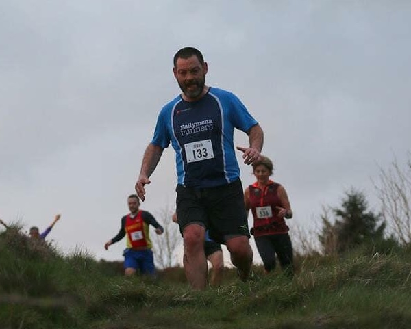 Alastair Donaghy tackles Slieve Martin
