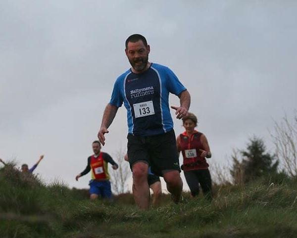 Alastair Donaghy tackles Slieve Martin