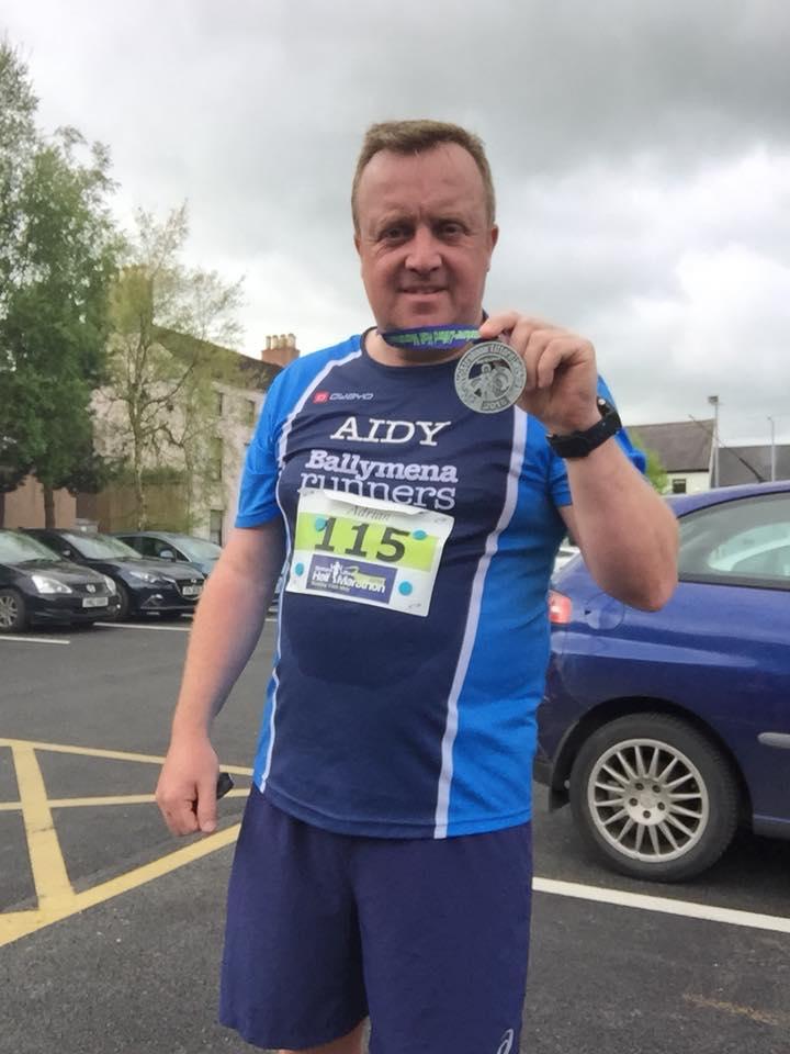 Aidy Dodds - Strabane Lifford Half Marathon