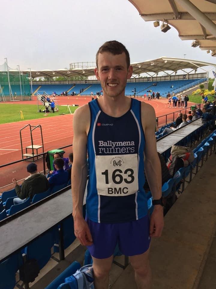 James Hamilton - BMC Manchester Sportcity Grand Prix 1500m