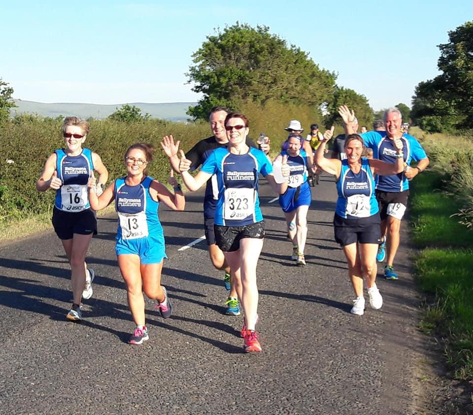 Team spirit on display Round The Bridges on Thursday evening