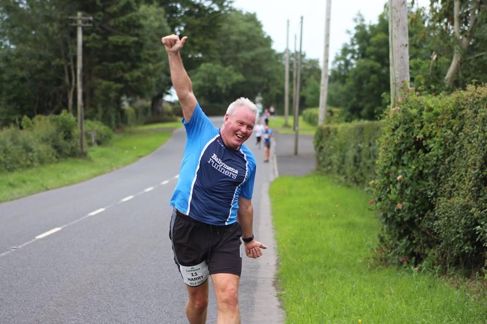 Harry Armstrong having fun at the LacPatrick Milk Run
