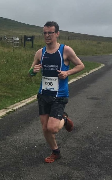 Connor Reid powers his way to second place in the Divis 10k