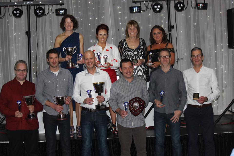 Ballymena Runners awards dinner winners
