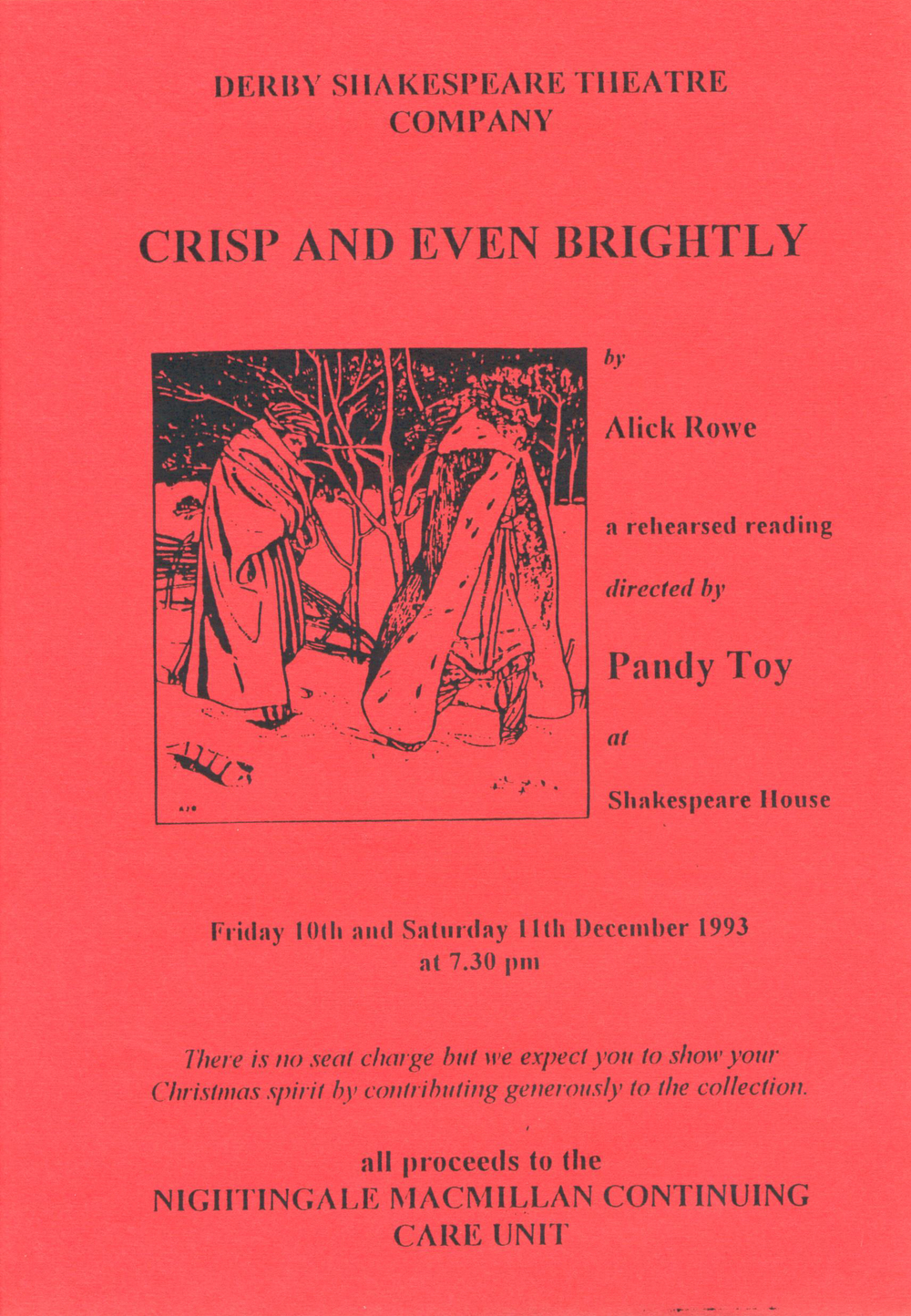 'Crisp & Even Brightly' 1993