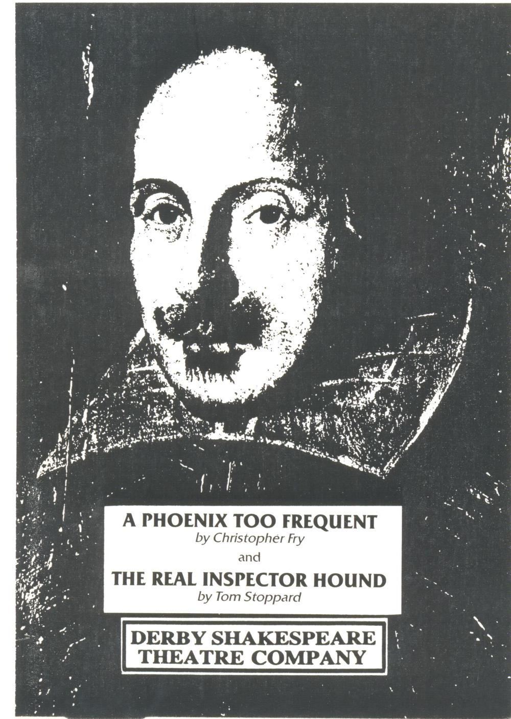 'A Phoenix Too Frequent' & 'The Real Inspector Hound' 1987