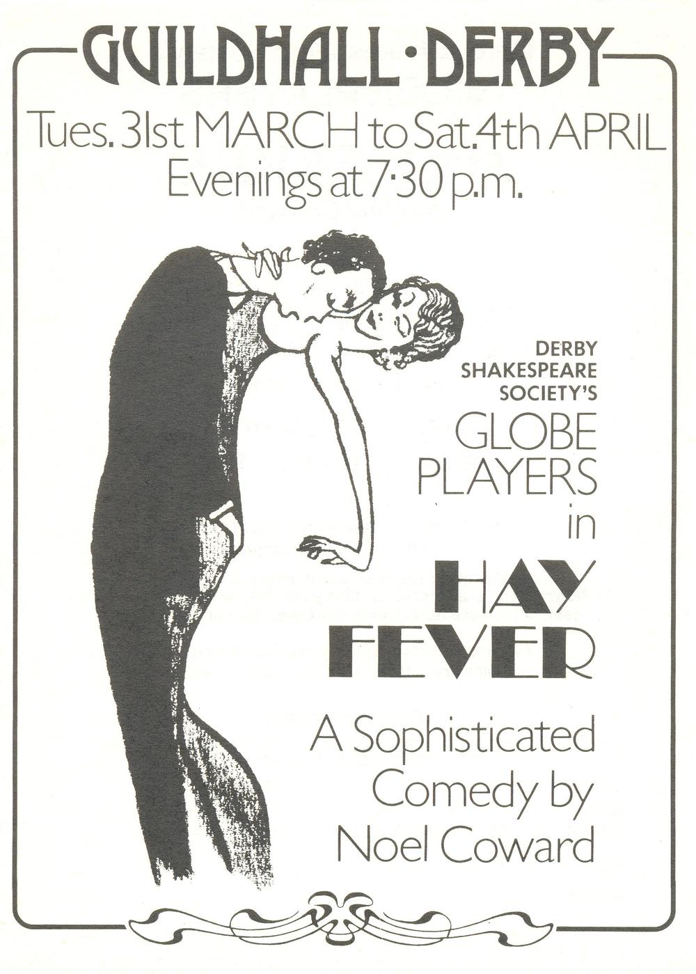 'Hay Fever' 1981