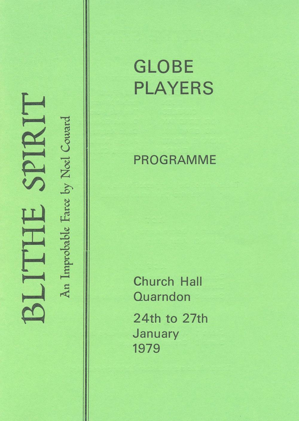 'Blithe Spirit 1979'