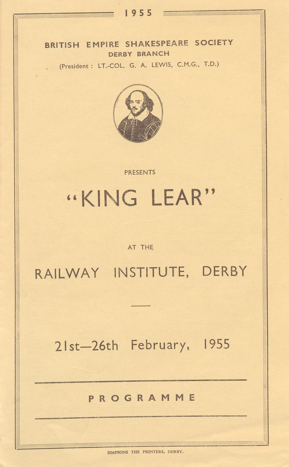 'King Lear' 1955