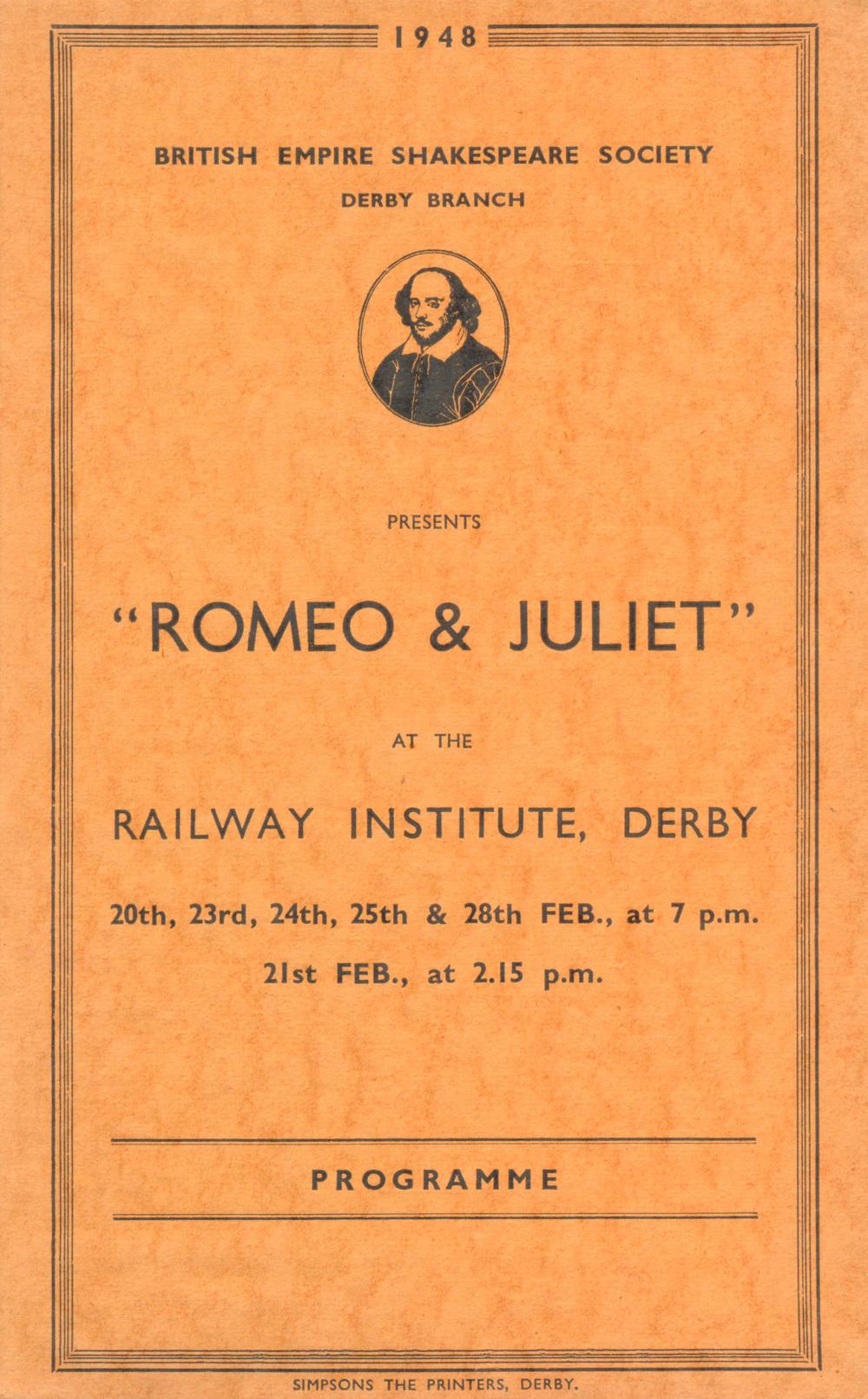 'Romeo & Juliet' 1948