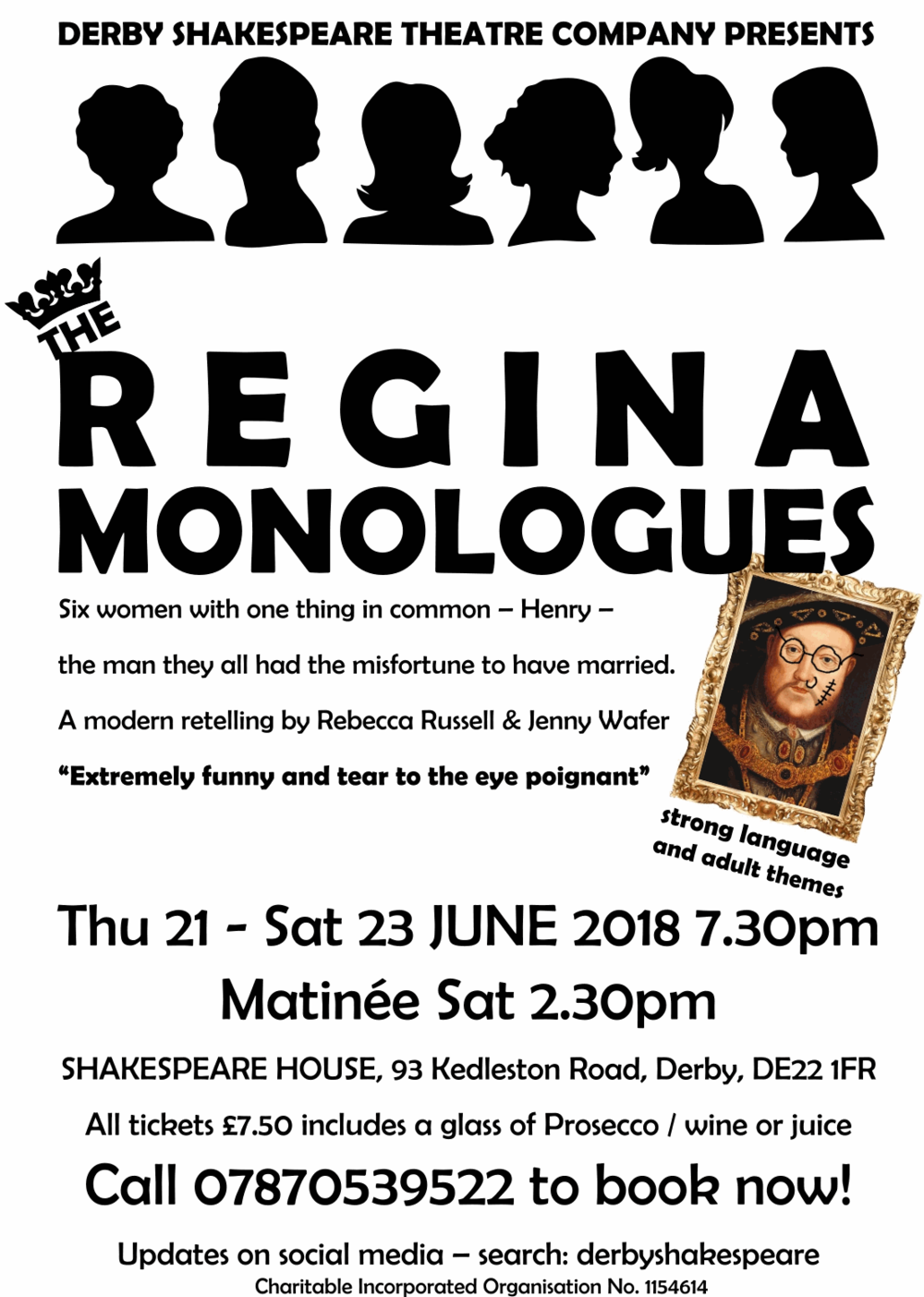 'The Regina Monologues' 2018