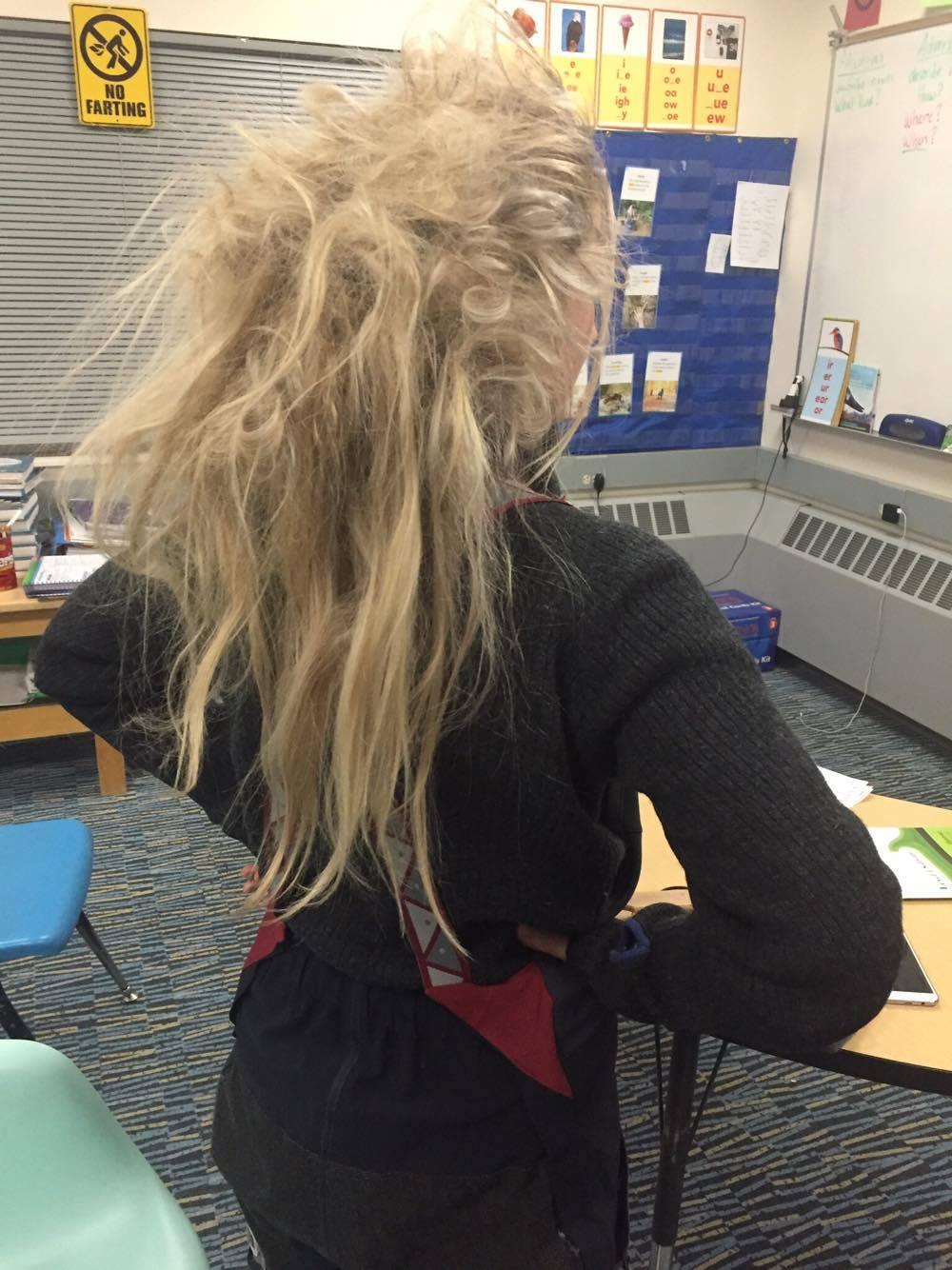 Hadde glidd rett inn på Jamaica med det her håret... dreads all over. Ser ut som jeg har fått meg en skikkelig omgang!