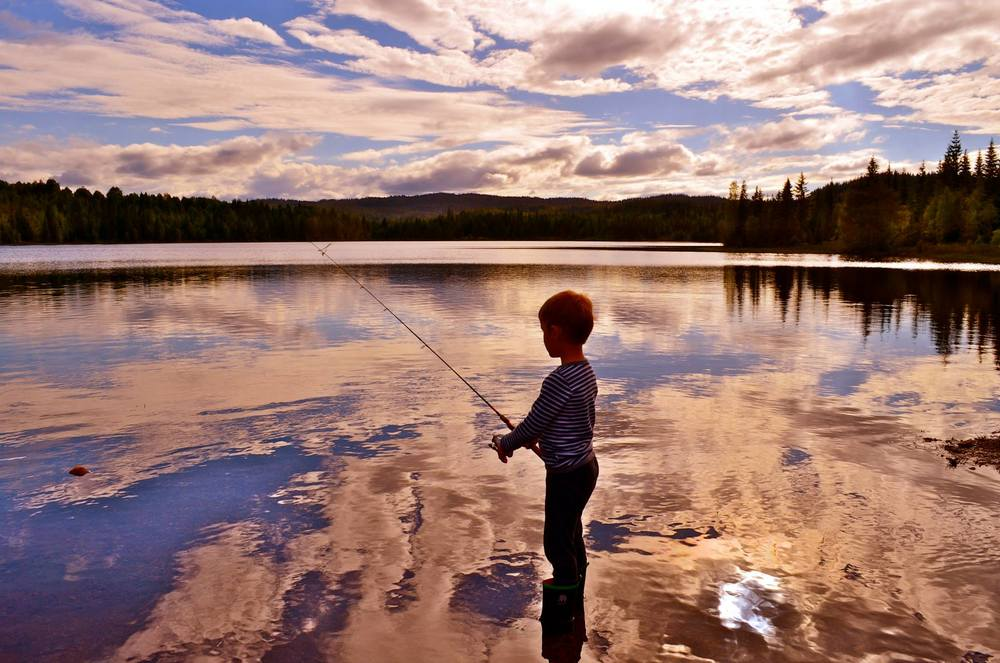 Tålmodigheten strekkes ofte når det er skattejakt på fisken!
