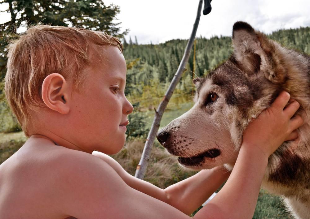 Når ikke kameratene er med på tur, er hunden en like god venn.