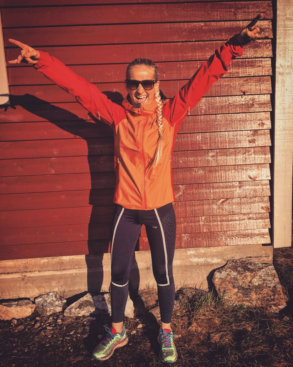 Har tatt opp løping igjen som treningsform og kanskje etterhvert i større skala.