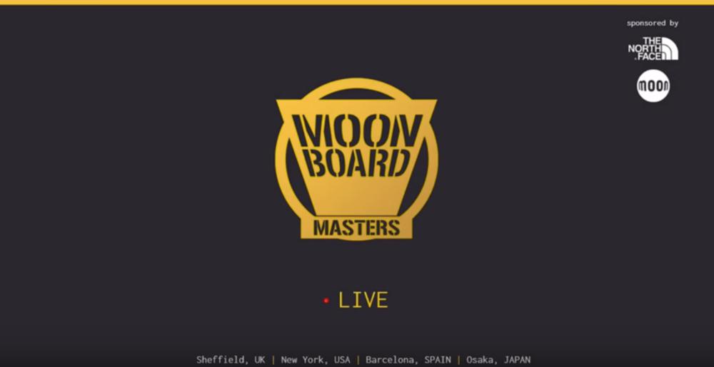 Moonboard Masters Livestream