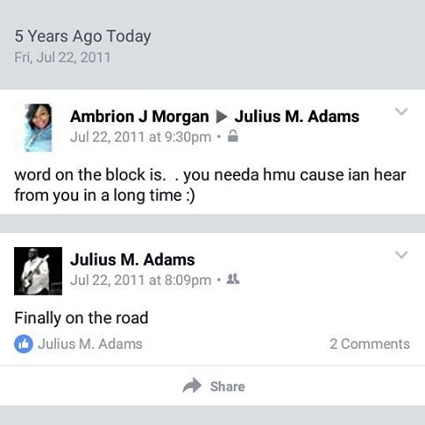 5 years ago and she was still crazy about me