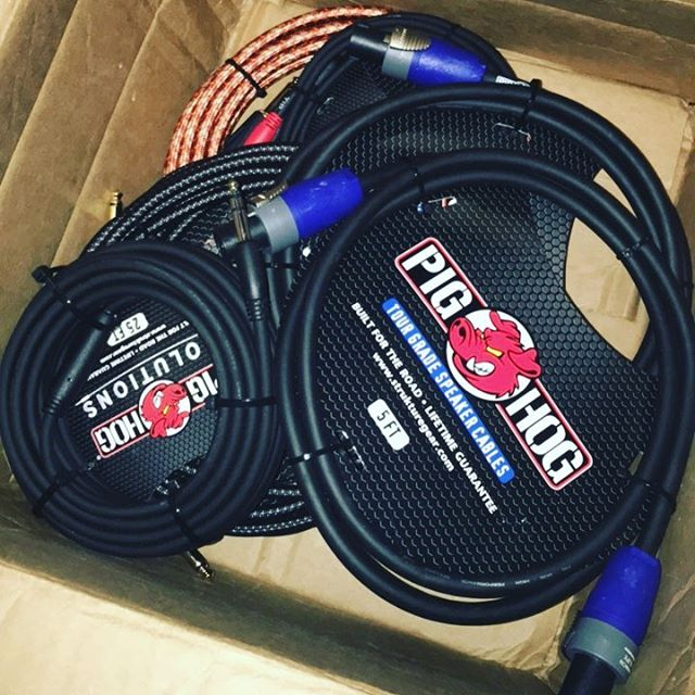 Thanks to Michelle and all the guys down at @pighogcables who stay hooking me up !!!!! #pighogcables