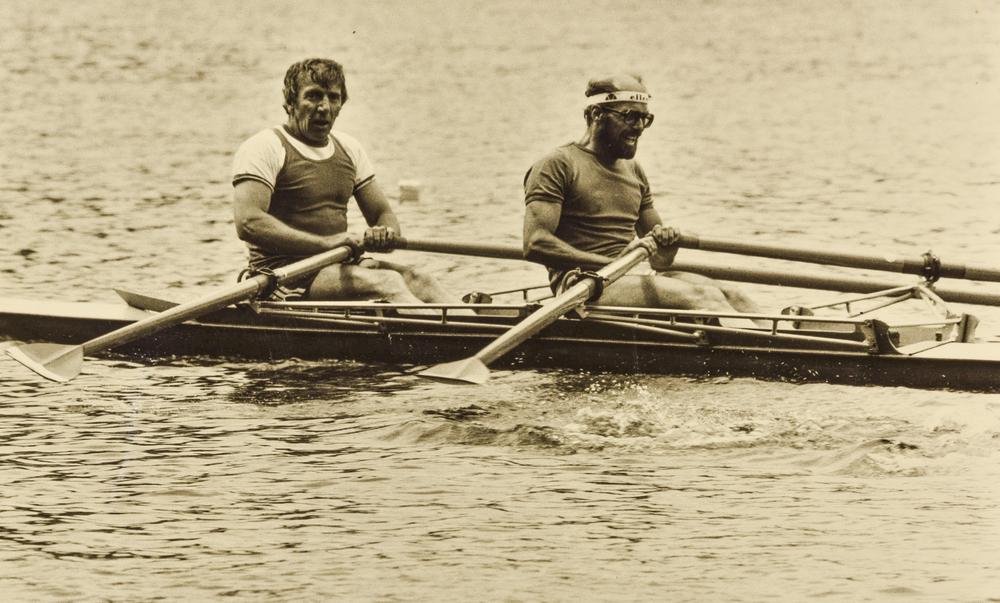 1979 im Doppelzweier mit Ruedi Flueler