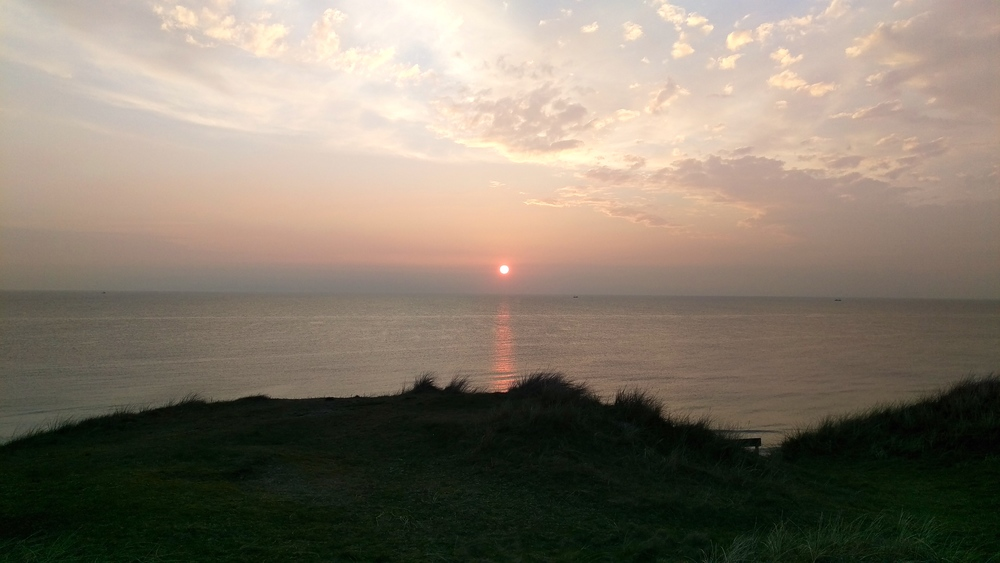 Sunset Sylt.