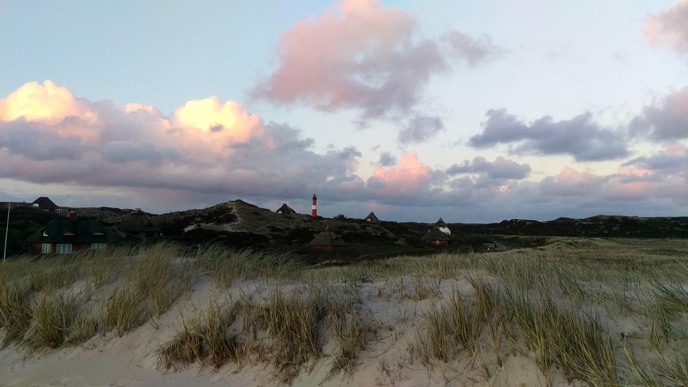 Dune landscape of Hörnum.