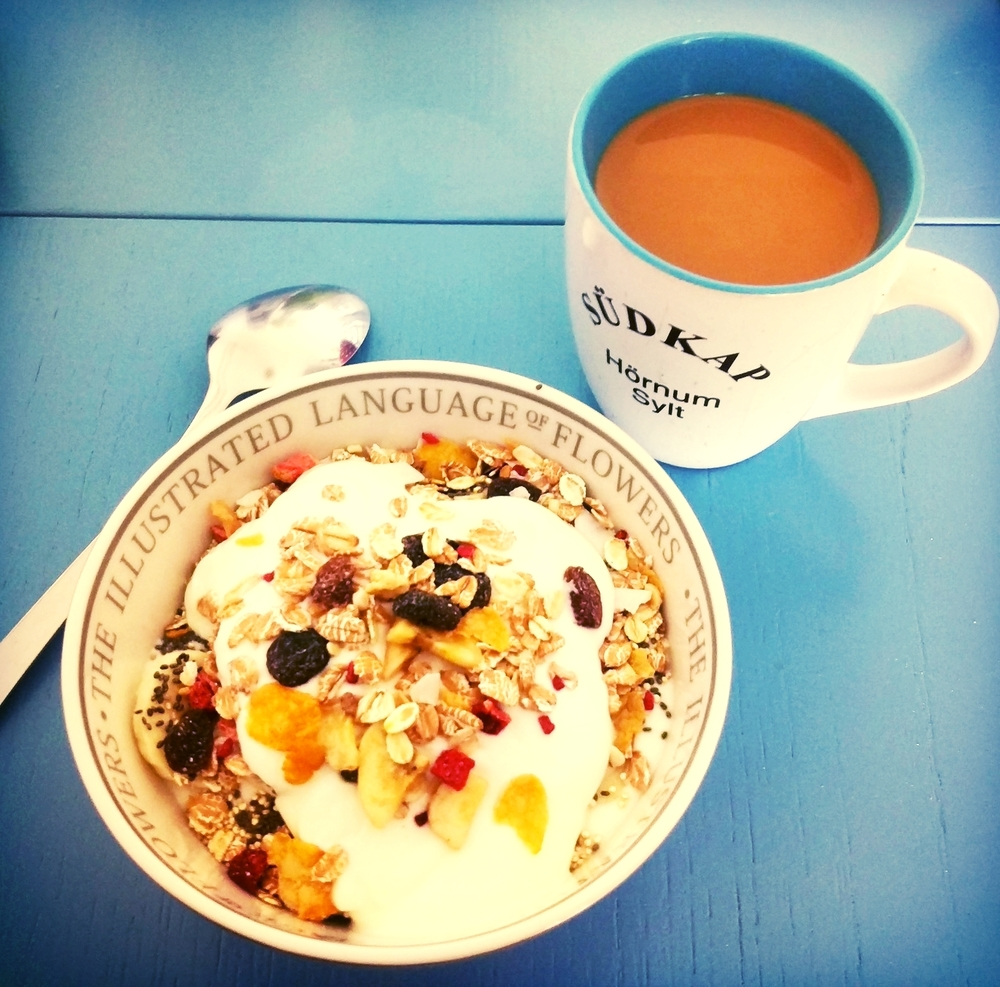 There's nothing like muesli & coffee