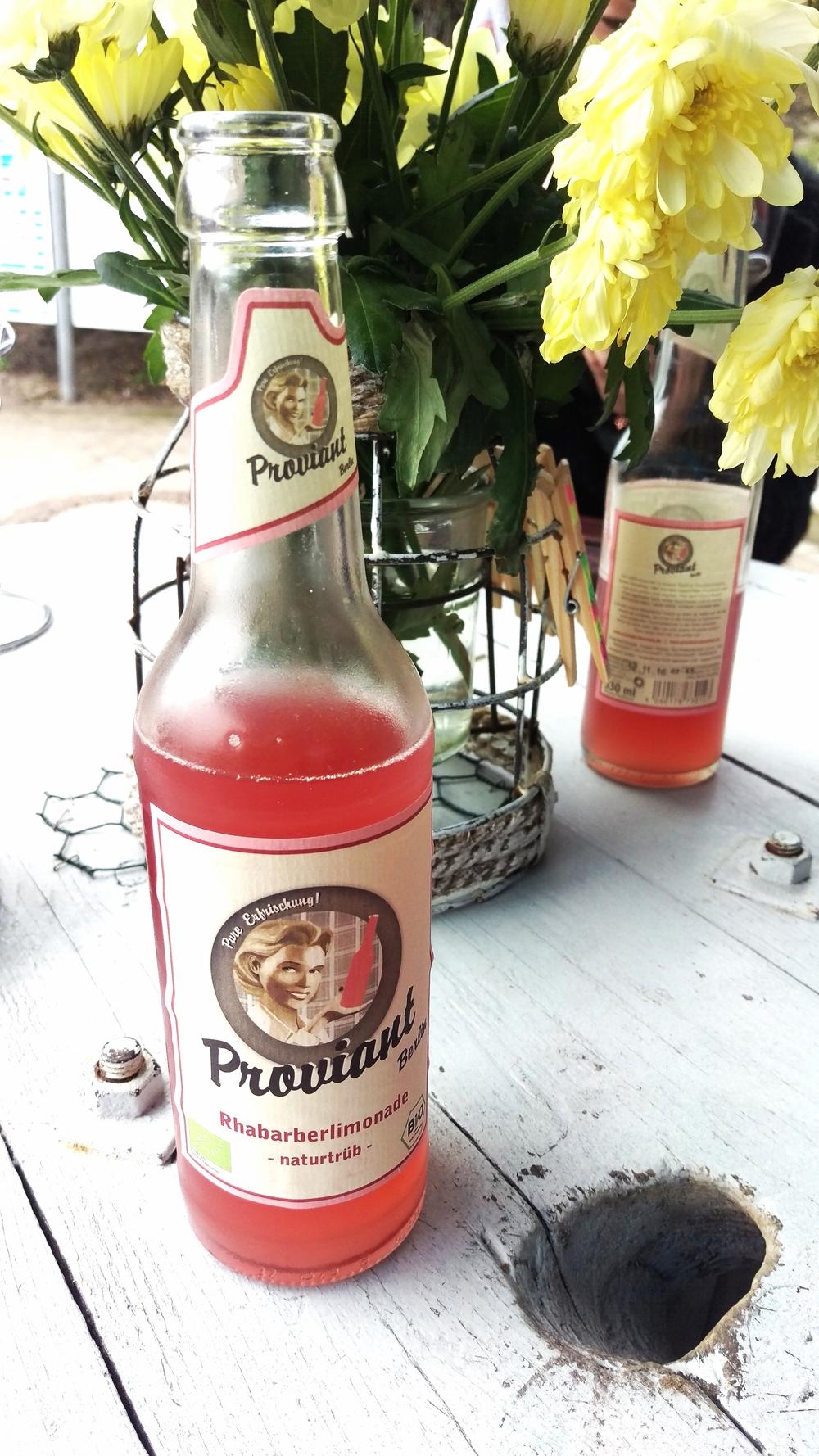 Proviant rhubarb cooler.