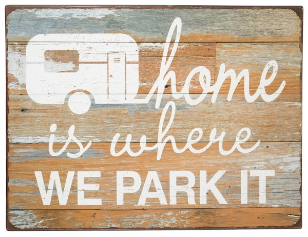 Home is where we park it.