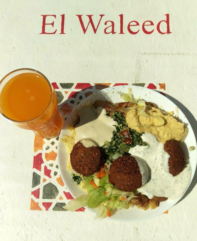 Best falafel in Rostock- El Waleed.