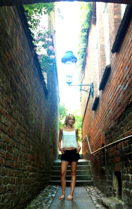 Alleys somewhere in Lübeck.