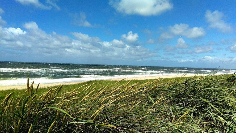 Wenningstedt beach.