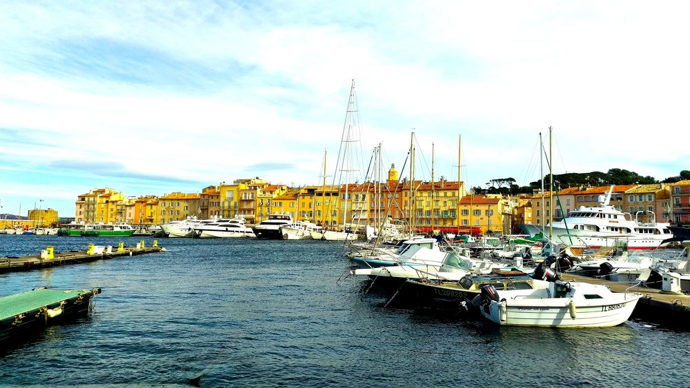 Harbor of St.Tropez