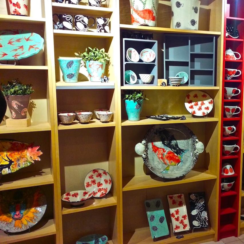 Ceramic atelier in Giens...